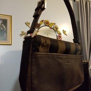 "Fendi small shoulder bag approximately 9.25""Lx6""H"